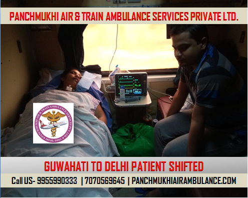 Air and TRain Ambulance services in Dibrugarh