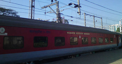 train ambulance services in india