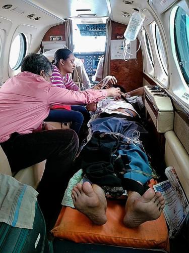 Panchmukhi Air Ambulance from Patna to Mumbai