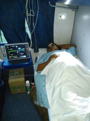 Panchmukhi Train Ambulance with ICU Setup Service