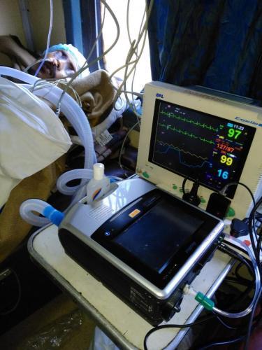 Full ICU Setup by Panchmukhi Train Ambulance