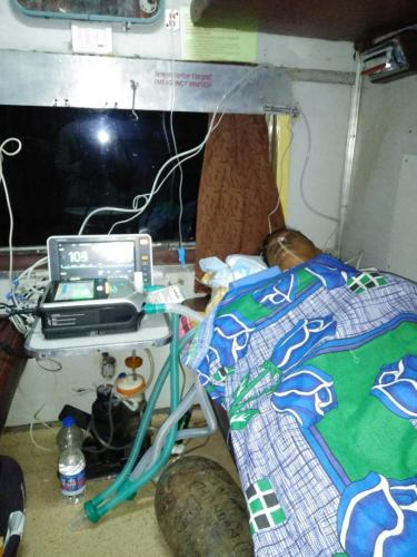 Panchmukhi Train Ambulance from From Jamshedpur to Delhi