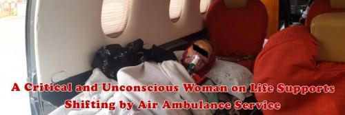 Panchmukhi Air Ambulance with full Medical Facility