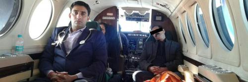 Panchmukhi Charter Air Ambulance from Patna to Bangalore